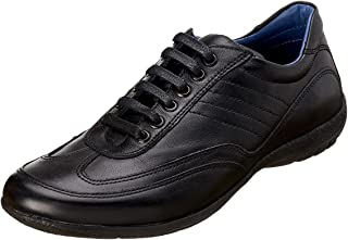 Salerno Round-Toe Lace Up Leather Fashion Sneakers for Men