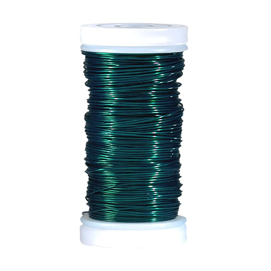 Efco 0.5 mm x 25 m Coloured Copper Wire, Green