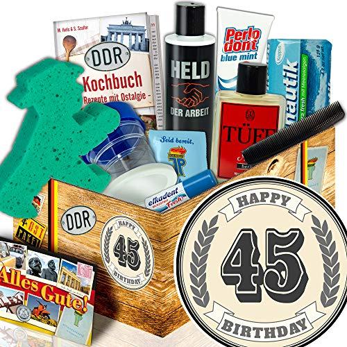 Männer Pflegeset DDR | Geschenke zum 45 Geburtstag | Geschenke zum 45.