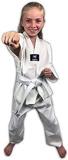 Zephyr Tae Kwon Do Gi Student Uniform with Belt - White
