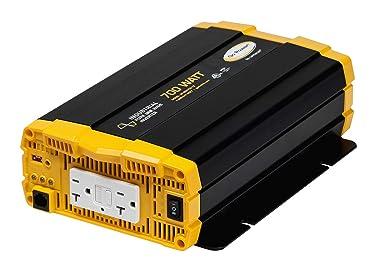 Go Power! GP-ISW700-12 Industrial Pure Sine Wave Inverter - 700 Watt / 12V