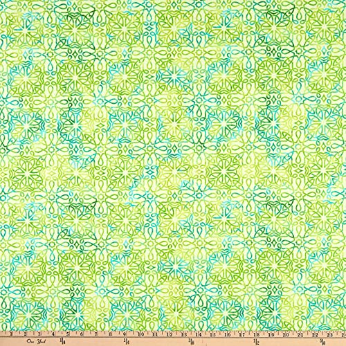 Henry Glass & Co. Irish Folk Celtic Knot Texture Green Quilt Fabric (0653791)