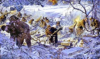 James Dietz Stopped Cold 101st Airborne Division World War II Military Art (Artists Proof)