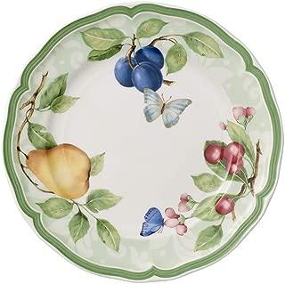 Villeroy & Boch French Garden Beaulieu Breakfast Plate, 21 cm, Premium Porcelain, White/Colourful