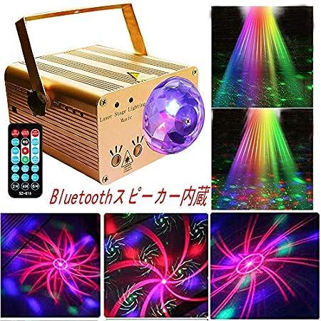 【パリピ向け】QJASY Bluetoothスピーカー内蔵LEDミラーボールステージライト 3,113円送料無料!【3/13まで再開】