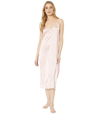 Splendid Satin Night Gown (Powder Pink) Women