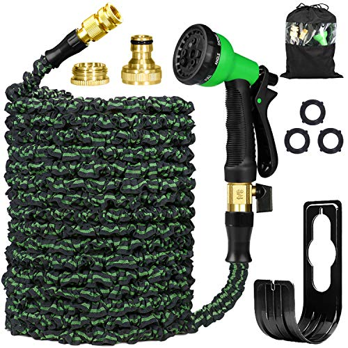 Garden Hose Pipes Expandable 75ft, Flexible Hose Pipe Expanding Water Hose...