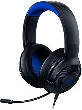 Fone de ouvido Razer Kraken X ultraleve para jogos: som surround 7.1 - microfone dobrável - PC, PS4, PS5, Switch, Xbox On...