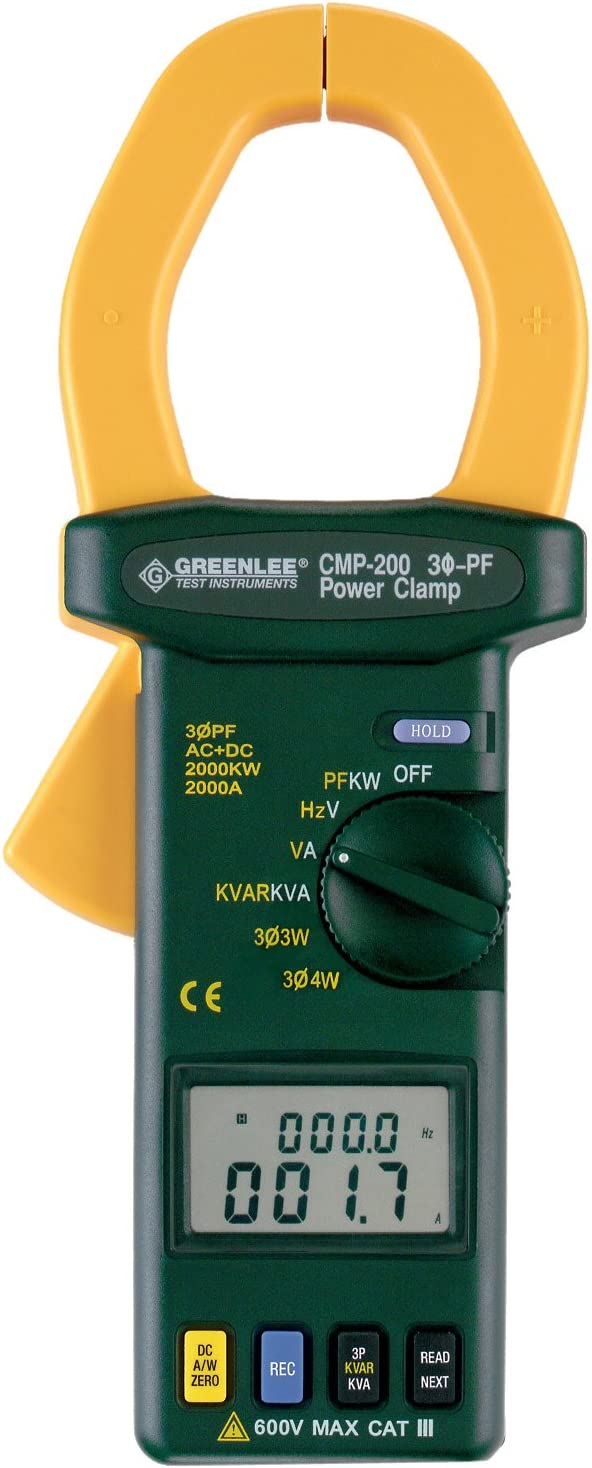 Greenlee - Max 71% OFF Clamp Meter-Trms 2000A Calib Test Elec Beauty products Instruments