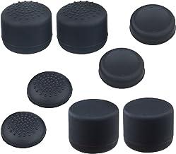[4 Sets] Joystick Thumb Stick Key Caps for Sony Playstation, Hapurs Anti-Skip Silicone Joy Stick Controller Shell Cover Pr...