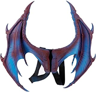 HMS Unisex-Adults Supersoft Dragon Mask-BL One Size Blue
