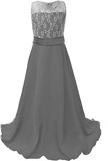 f37cacafe8b9a Amazon.co.uk: Grey - Dresses / Girls: Clothing