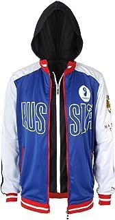 Cosplay Costume Training Jacket for Yuri Plisetsky Cloth Hooded Coat for Adults