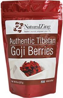 Authentic Tibetan Goji Berries (Raw, Wildcrafted) 8 oz