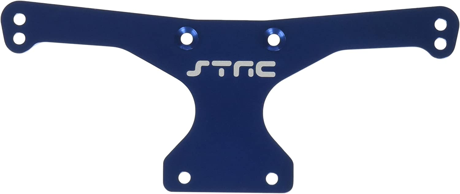 ST Racing Concepts STC9820RB Heavy Duty Aluminum Rear Body Mount Plate for The SC10, Blau