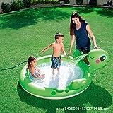 Aufblasbare Wasserball Sand Pool Baby Pool, Baby Planschbecken, Kinderbecken, Verdicktes Angelbecken, Kinderspielzeug -180 * 152 * 66cm