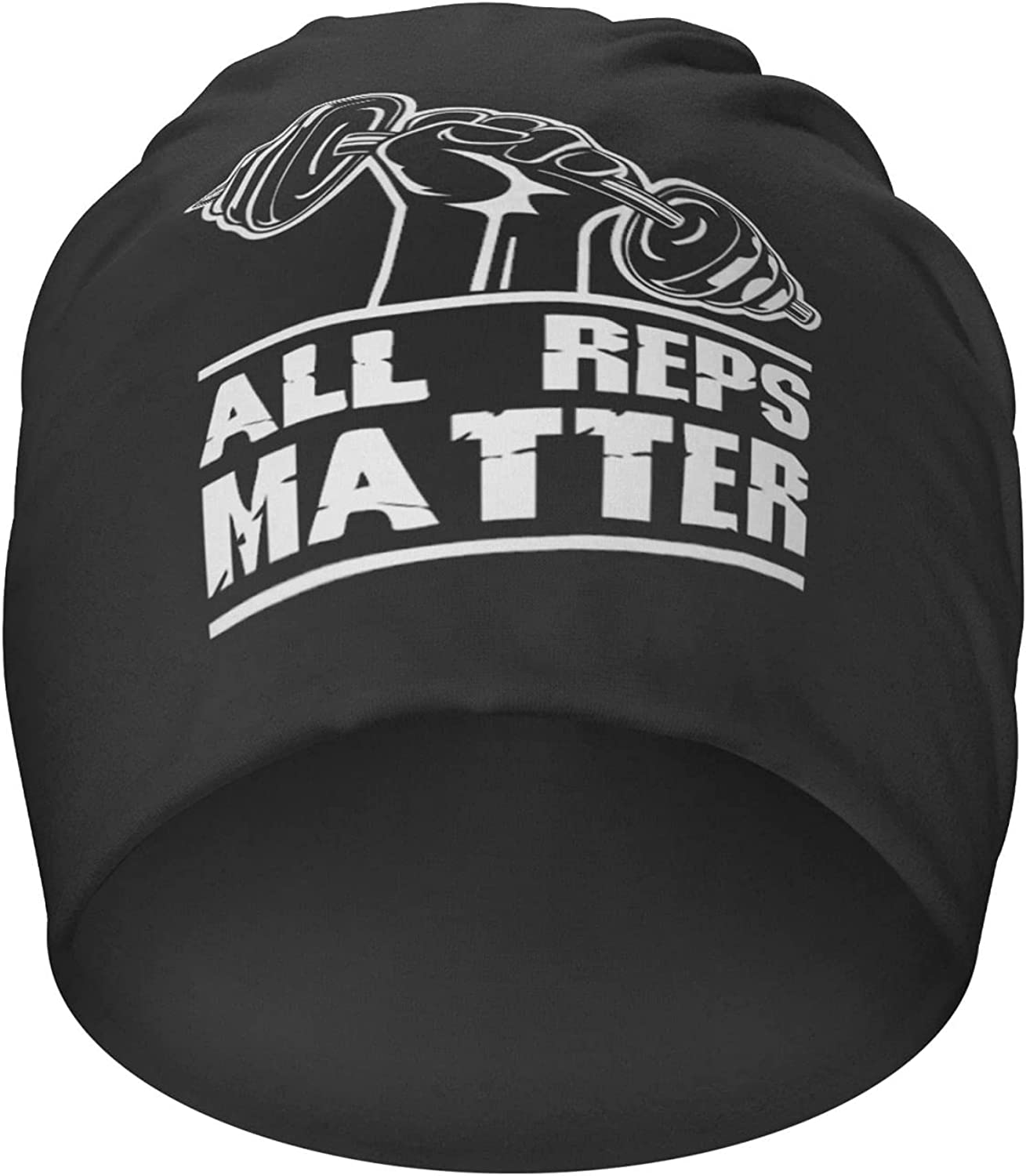 All Reps Matter Workout Motivation Hedging Brand Cheap Sale Venue Casual Ranking TOP2 B Hat Knit Cap