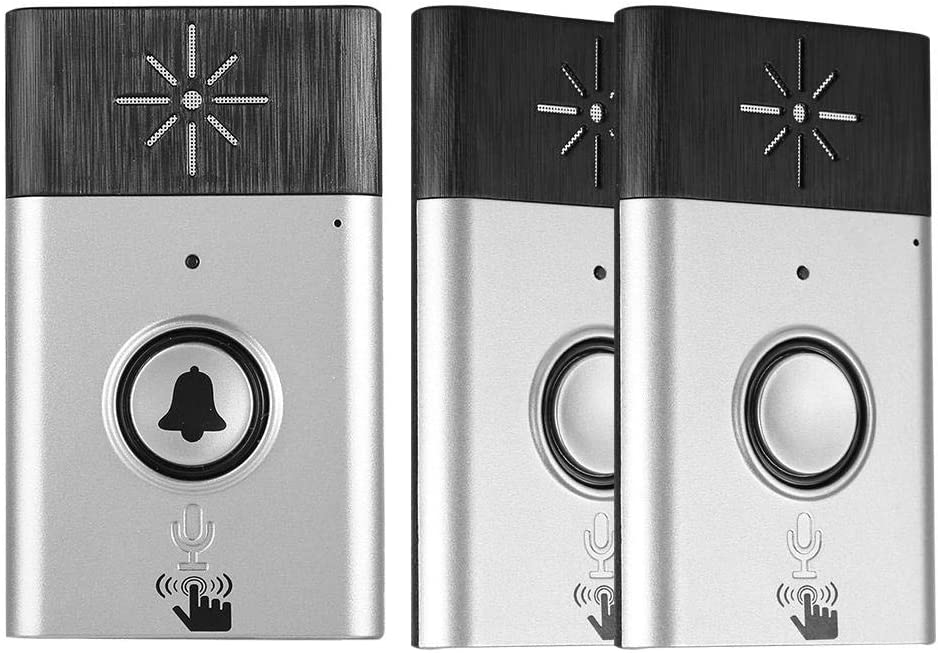 Wireless Under blast sales Voice Intercom Spe Doorbell Limited time sale Adjustable