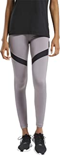 Reebok Wor Mesh Tight Mailles Femme, Gris (Gragry), 2XS/S