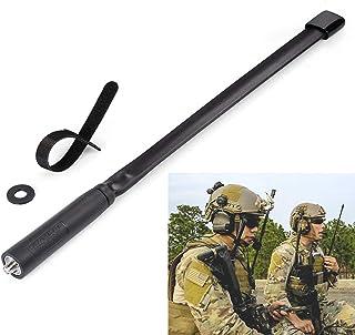 Bingfu Dual Band VHF UHF 136-520MHz 13 inch Foldable CS Tactical SMA Female Ham Radio Antenna for Kenwood Wouxun Baofeng B...