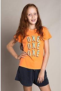 T-SHIRT INFANTIL FEMININA OXE OXE OXE