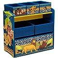 Delta Children Design and Store 6-Bin Toy Storage Organizer, Disney The Lion King