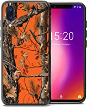 for Umidigi One Pro Case, Umidigi One Case, ABLOOMBOX Shockproof Slim Thin Soft Flexible TPU Silicone Protective Cover for Umidigi One/One Pro Orange Camo Tree