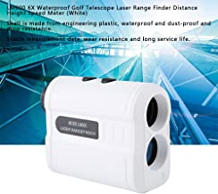 Digital Rangefinder, LM600 6X Waterproof Telescope Range Finder Distance Height Meter(White)