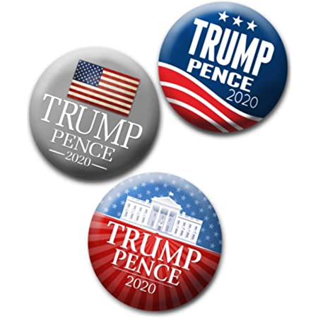 Donald Trump inaugural pin,button 3 inch NICE C
