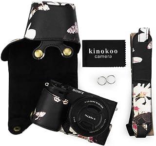 kinokoo Schutzhülle für Sony A6400 A6100 und 16 50 mm Objektiv Kameratasche Sony a6400 Hülle, Alpha 6100/ILCE 6100 (Schwarz b)