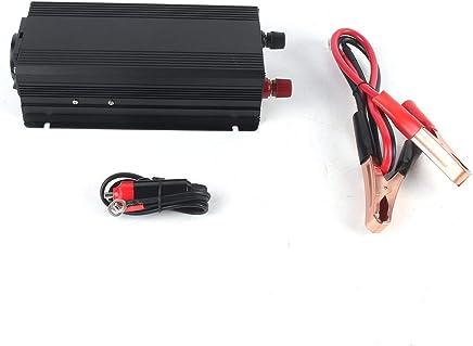 24 V Zu AC 220 V Sinus Konverter Schnittstellen Spannungswandler Adapter Noradtjcca 4000 Watt Auto Wechselrichter Ladeger/ät DC 12 V