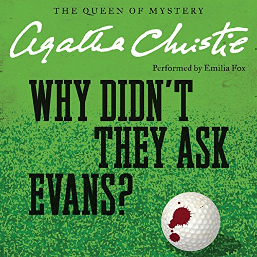 Why Didn't They Ask Evans? audiobook cover art