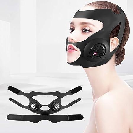 美顔器 マスク型美顔器 3種類モード ウェアラブル USB充電式 男女兼用 水洗いでき
