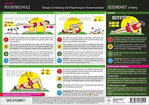 Rückenschule: Übungen zur Stärkung und Entspannung der Rückenmuskulatur