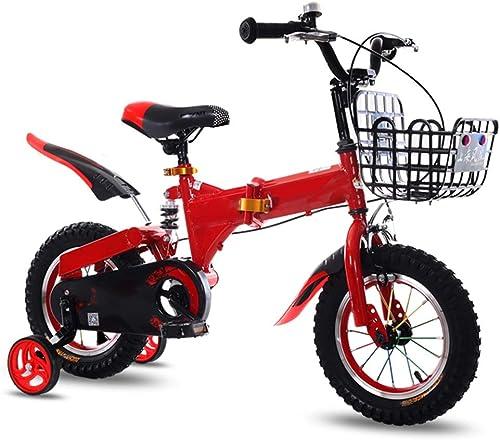 tienda en linea YUMEIGE Bicicletas Bicicleta para Niños Niños Niños con Ruedas de Entrenamiento para Bicicleta de 12 14 16 18 Pulgadas, Ciclismo Infantil, Cesta de cinturón de 3 Colors y Campana de Coche Disponible  buen precio