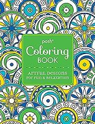 Artful Designs Posh Colouring Books Christmas