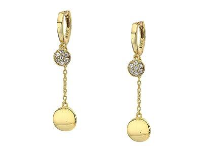 SHASHI Chiara Drop Earrings (Gold) Earring