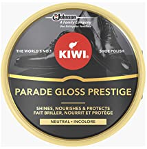 KIWI Shoe Polish, Parade Gloss Prestige Shine, Renew, Protect & Nourish Leather Shoes, Neutral, 50 ml, Pack of 1