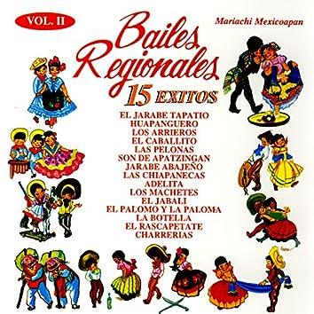 Bailes Regionales Vol. II