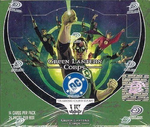 DC VS System Trading Card Game Grün Lantern Corps Booster Box 24 Packs [Toy]