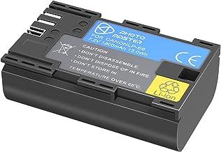 PHOTO MASTER LP-E6 LP-E6N Replacement Battery for Canon EOS 80D  EOS 70D  EOS 60D  EOS 60Da  EOS EOS Mark II  Mark III  EOS Mark IV  EOS 5DS  5DS EOS Series Digital Camera