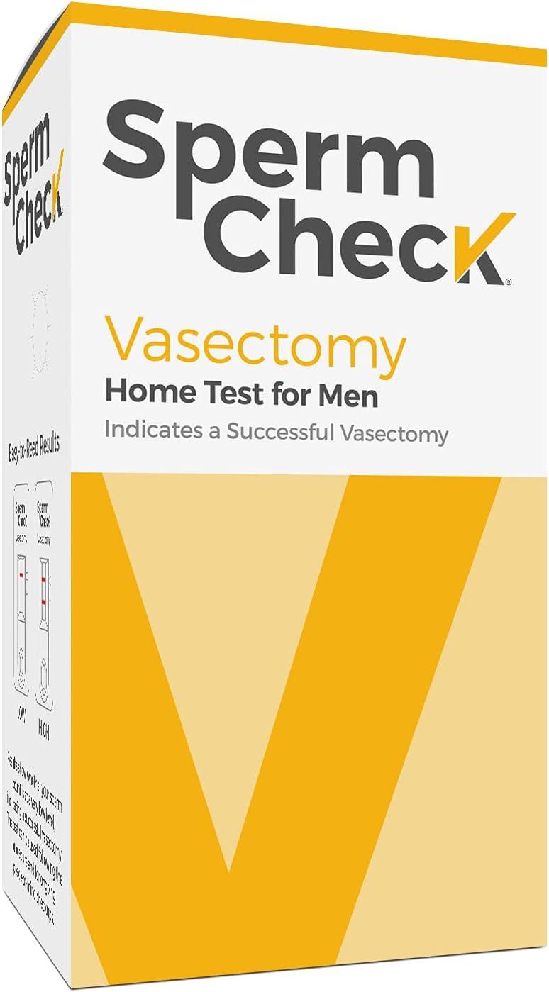 Spermcheck Vasectomy Home Sperm Test Kit | FSA-HSA Eligible