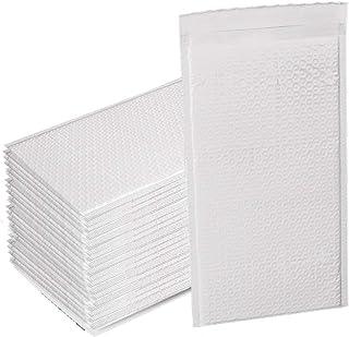 クッション 封筒 long サイズ 100 枚 入 外 寸 150 x 250 mm 内 寸 130 x 250 mm 長 形 防水 ホワイト エア キャップ 封かん テープ 付き 郵便 梱包 気泡 緩衝 材 包装 袋 ゆう パケット ネコポス クリック ポスト クロ ネコ dm 対応