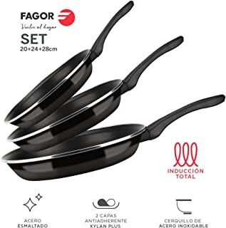 Fagor SARTEN OPTIMAX. Sartén Antiadherente Doble Capa,