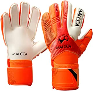 Haploon Adult & Youth Goalie Goalkeeper Gloves Professional Goalkeeper Gloves,Soccer Football Training Goalkeeper Secure Gloves with Finger Protector-Carry Tote Included