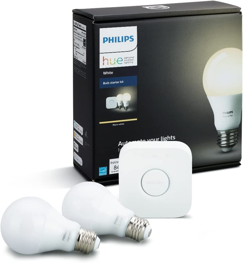 Philips Hue White A19 Spring new work 60W Equivalent LED Bulb Sta Large-scale sale Smart Dimmable