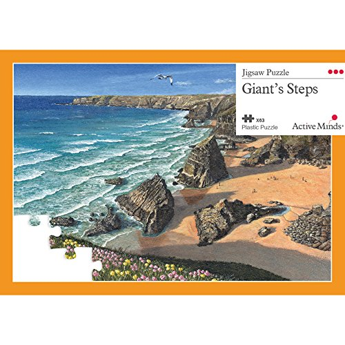 Active Minds 63 Piece Giant's Steps Jigsaw Puzzle | Specialist Alzheimer's / Dementia Activities & Games