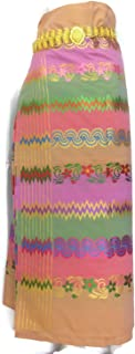 Myanmar Traditional Fashion Fabric for Clothing Dress Long longyi Skirt LY23