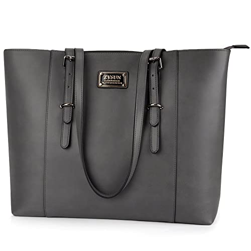 ZYSUN Laptop Tote Bag Fits Up to 15.6 in Awesome Gifts for Women 315130a784213
