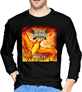 Men's Graphic Black Country Communion Soft Long Sleeve Tee